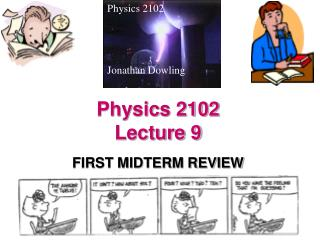 Physics 2102  Lecture 9