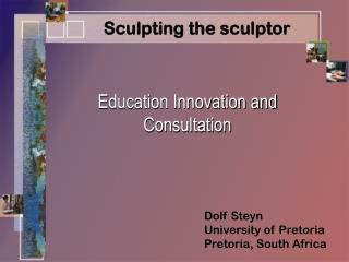 Education Innovation and Consultation