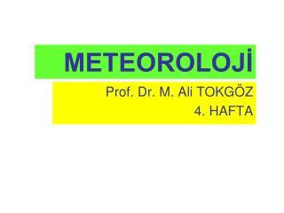 METEOROLOJİ