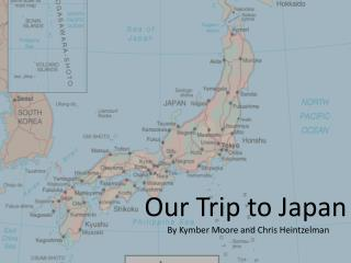 Our Trip to Japan
