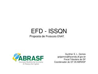 EFD - ISSQN