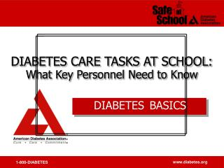 DIABETES BASICS