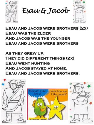 Esau & Jacob