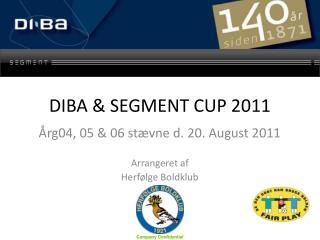 DIBA & SEGMENT CUP 2011