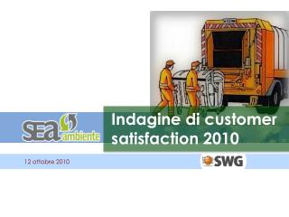 Indagine di customer satisfaction 2010
