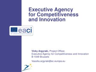 Executive Agency for Competitiveness and Innovation