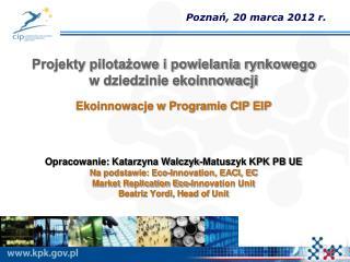 Poznań, 20 marca 2012 r.