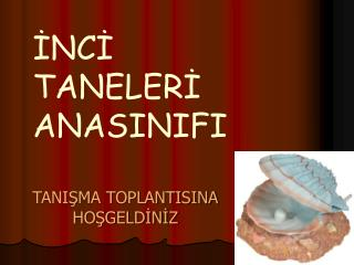 TANIŞMA TOPLANTISINA HOŞGELDİNİZ