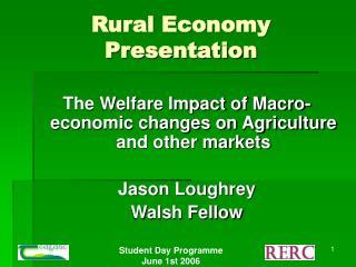 Rural Economy Presentation
