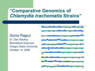 Comparative Genomics of  Chlamydia trachomatis Strains