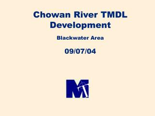 Chowan River TMDL Development Blackwater Area 09