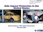 Side Impact Protection in the United States