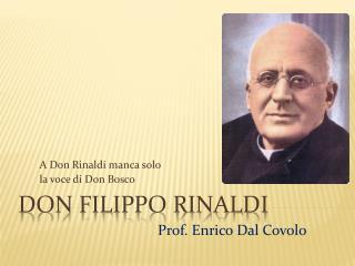 Don Filippo Rinaldi