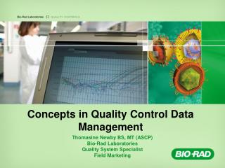 Concepts in Quality Control Data Management