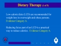 Dietary Therapy 1 of 5