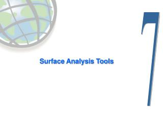 Surface Analysis Tools