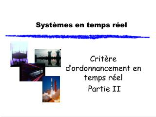 Systèmes en temps réel