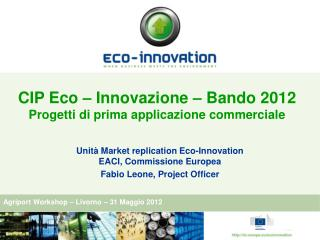 Agriport Workshop – Livorno – 31 Maggio 2012