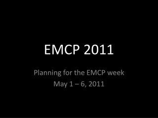 EMCP 2011