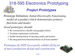 Project Prototypes