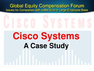 Global Equity Compensation Forum Issues for Companies with a Mid-Size to Large Employee Base