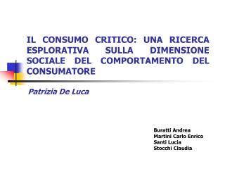 Buratti Andrea Martini Carlo Enrico Santi Lucia  Stocchi Claudia