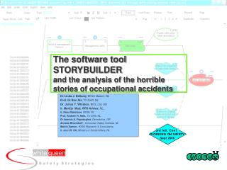 The software tool STORYBUILDER  and the analysis of the horrible stories of occupational accidents
