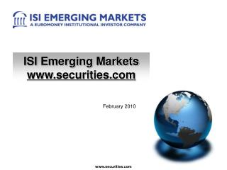 ISI Emerging Markets  securities