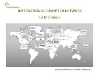 INTERNATIONAL CLEANTECH NETWORK