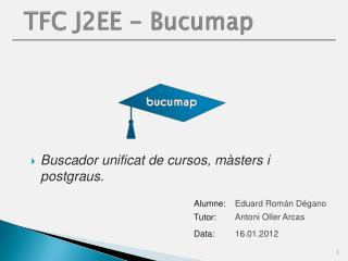 TFC J2EE -  Bucumap