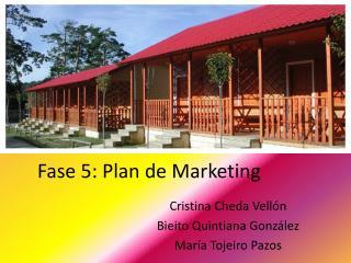 Fase 5: Plan de Marketing