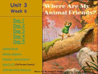 Unit 3 Week 6