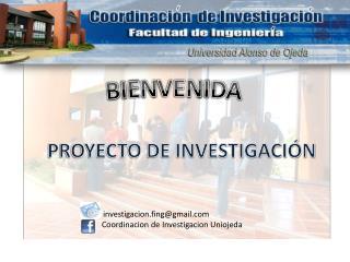 PROYECTO DE INVESTIGACI�N