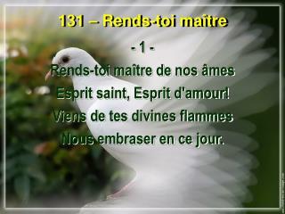 131 – Rends-toi maître