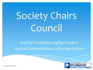 Society Chairs Council