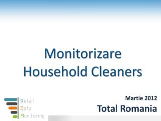 Martie  2012 Total Romania