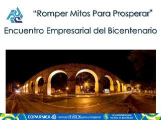 """Romper Mitos Para Prosperar """