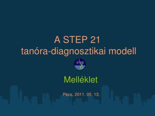 A STEP 21  tanóra-diagnosztikai modell