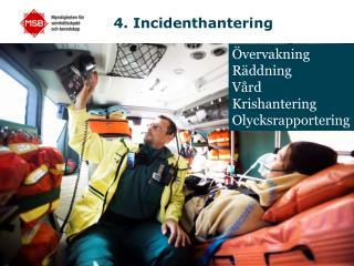 4. Incidenthantering