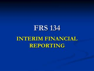 FRS 134
