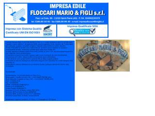 IMPRESA EDILE FLOCCARI MARIO & FIGLI s.r.l.