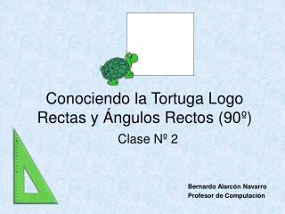 Conociendo la Tortuga Logo Rectas y Ángulos Rectos (90º)
