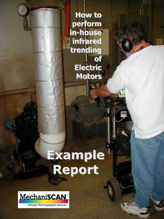 How to  perform  in-house  infrared  trending  of  Electric  Motors