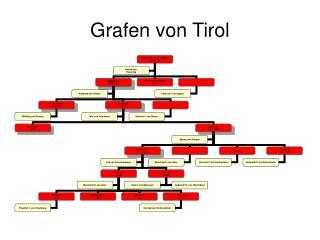 Grafen von Tirol