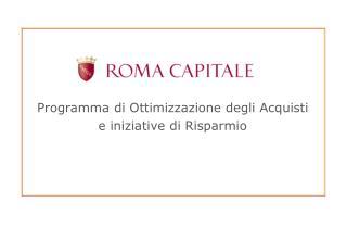 Programma di Ottimizzazione degli  Acquisti e iniziative  di Risparmio