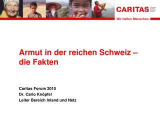 Armut in der reichen Schweiz – die Fakten