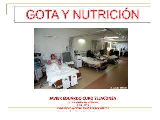 GOTA Y NUTRICIÓN