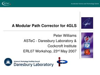 A Modular Path Corrector for 4GLS