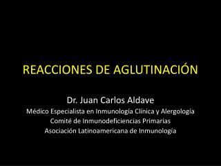 REACCIONES DE AGLUTINACIÓN