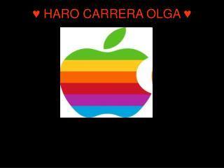 ♥ HARO CARRERA OLGA ♥